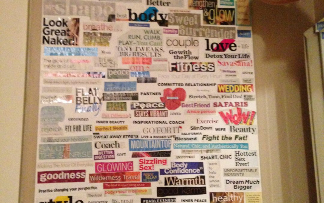 The Powerful Pull of a Vision Board